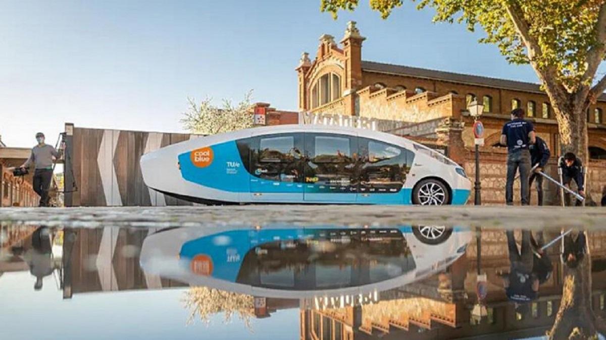 Autocaravana completa propulsada con energía solar completa un viaje de 1.242 millas