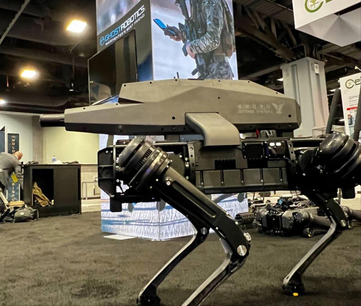 perro robot militar
